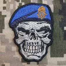 Нашивка Череп в береті Національна Гвардія