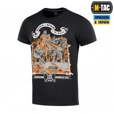 Купить Футболка M-Tac Вогнем і Мечем Black в интернет-магазине Каптерка в Киеве и Украине