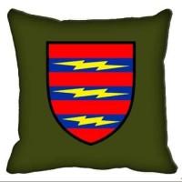 Декоративна подушка 3 Окрема Бригада Зв'язку (олива)