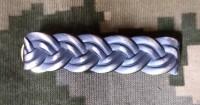 Знак на погон для військовослужбовців старшого офіцерського складу срібло-патина