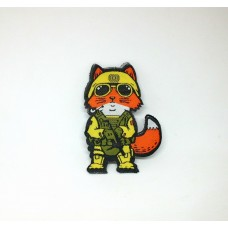 Шеврон Tactical Fox