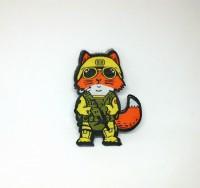 Шеврон Tactical Fox