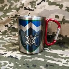 Купить Термочашка з принтом 10 ОГШБр в интернет-магазине Каптерка в Киеве и Украине