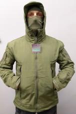Куртка PAN-TEC Soft Shell з утеплювачем (олива)
