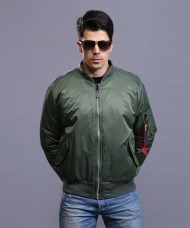 Куртка Пілот Esdy Flight Jacket MA-1 (олива)