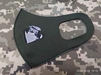 Маска з вишивкою Котик Гірський Піхотинець