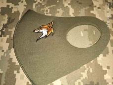 Маска з вишивкою Fox