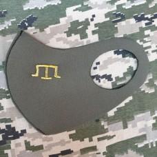 Купить Маска з вишивкою Тамга в интернет-магазине Каптерка в Киеве и Украине
