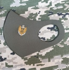 Маска з вишивкою Морська Піхота