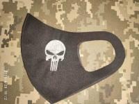 Маска з вишивкою Punisher