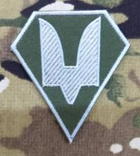 Нарукавний знак Сили Спеціальних Операцій олива-білий