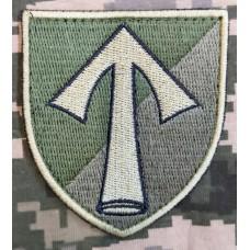 Нарукавний знак 57 ОМПБр (Польовий)