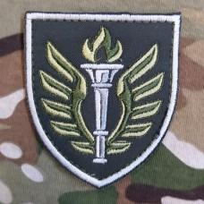 Нарукавний знак 199 Навчальний Центр ДШВ Варіант (олива)