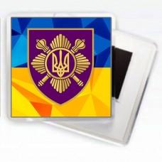 Магніт Окремий Президентський Полк (Варіант з шевроном)
