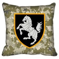 Декоративна подушка 1 Окрема Танкова Сіверська Бригада (піксель)