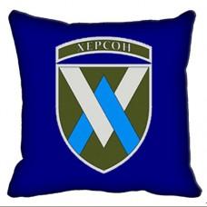 Декоративна подушка 11 Окрема Бригада Армійської Авіації (синя)