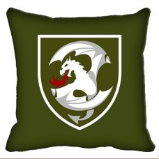 Декоративна подушка 12 Окрема Бригада Армійської Авіації (олива)