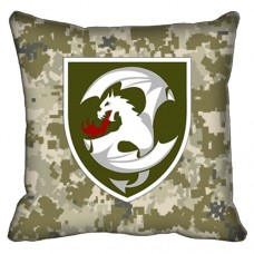 Декоративна подушка 12 Окрема Бригада Армійської Авіації (піксель)