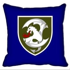 Декоративна подушка 12 Окрема Бригада Армійської Авіації (синя)