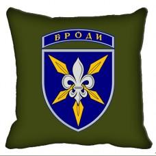 Декоративна подушка 16 Окрема Бригада Армійської Авіації (олива)