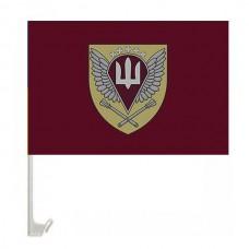 Автомобільний прапорець Командування ДШВ (шеврон марун)
