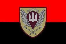 Прапор Командування ДШВ (червоно-чорний)