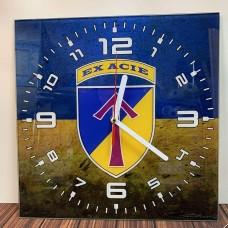 Годинник 57 ОМПБр Окрема Мотопіхотна Бригада (скло)