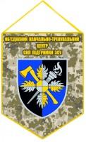 Вимпел Об'єднаний навчально-тренувальний центр Сил підтримки ЗСУ (піксель)