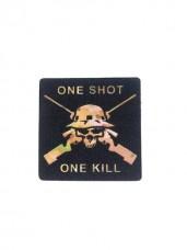 Купить Патч One shot One kill в интернет-магазине Каптерка в Киеве и Украине