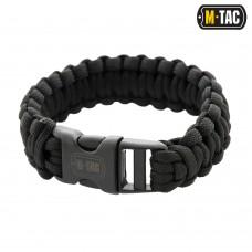 Браслет паракорд M-TAC чорний