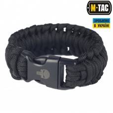 Браслет паракорд M-TAC Каратель 2 чорний