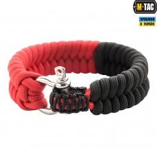 Браслет паракорд M-TAC червоно-чорний