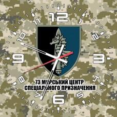 Годинник 73 Морський Центр Спеціальних Операцій (піксель)