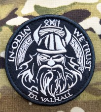 Нашивка In Odin We Trust