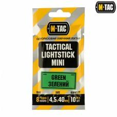 Хімсвітло M-Tac 4,5х40 зелений (10 шт)