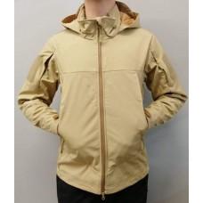 Куртка софтшел ESDY (TAN) коротка
