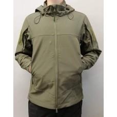 Куртка софтшел ESDY (олива) коротка