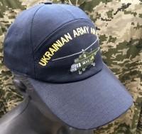 Бейсболка з вишивкою Армійська Авіація України (темно-синя)