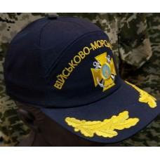 Бейсболка з вишивкою Військово-Морські Сили ВМСУ (темно-синя)