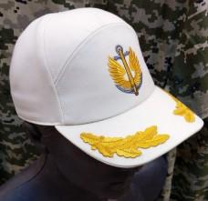 Бейсболка з вишивкою Морська Піхота (кремово-білий)