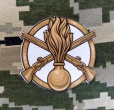 Наліпка Піхота (Механізовані Війська) 12х12см
