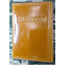 Обкладинка Паспорт шкіра Prestige (руда)