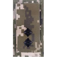 Погон Лейтенант ЗСУ ММ14 Згідно Наказу 238 універсальний: муфта-липучка