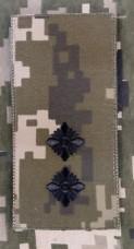 Погон Лейтенант ЗСУ ММ14 Згідно Наказу 238