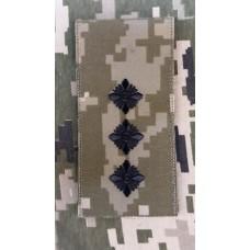 Погон Старший Лейтенант ЗСУ ММ14 Згідно Наказу 238 універсальний: муфта-липучка