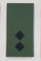 Погон Лейтенант ЗСУ Олива Згідно Наказу 238 липучка