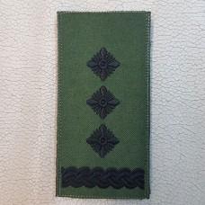 Погон Полковник ЗСУ Олива Згідно Наказу 238 універсальний: муфта-липучка