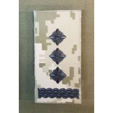 Погон Полковник ЗСУ ММ14 Згідно Наказу 238 універсальний: муфта-липучка
