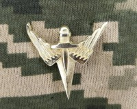 Емблема на комірець Армійська Авіація (нового затвердженого зразка)