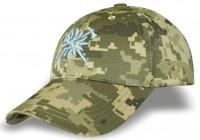 Бейсболка з вишивкою Едельвейс Гірська Піхота ЗСУ (Піксель)
